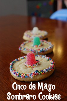 Sombrero Cookies via Random Thoughts of a Supermom