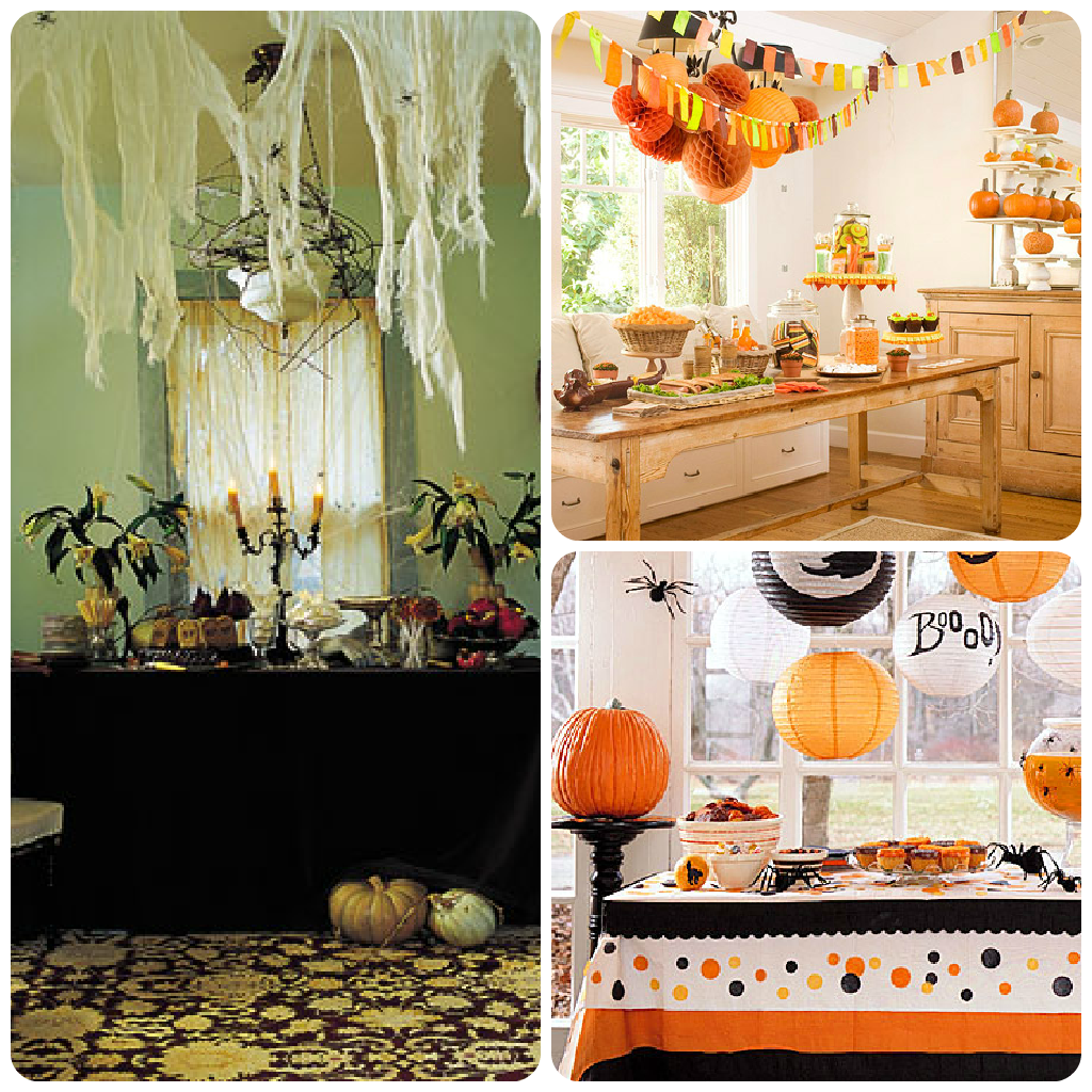 Diy ideas for your halloween party everyday savings Diy halloween party decorations