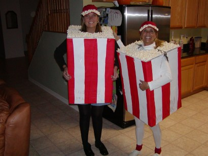 boxes of popcorn costume