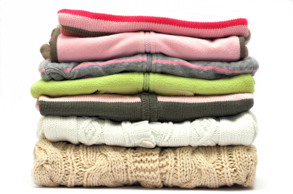 Storing Winter Clothes - Sweaters